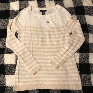 NWT Gap Lightweight Striped Sweater